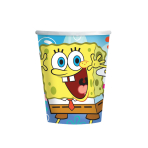 SpongeBob Paper Cups 266ml - 10 PKG/8