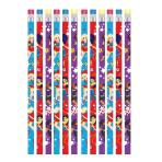 DC Super Hero Girls Pencils - 6 PKG/12