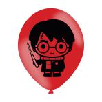 """Harry Potter 4 Sided Latex Balloons 27.9cm/11"""" - 6 PKG/6"""