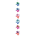 The Party Continues 18th Birthday Cascade Columns 2.1m - 6 PKG