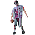 Adults End Zone Zombie Costume - Size Standard/M - 1 PC