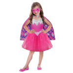 Barbie Power Princess Girls Costume - Age 8-10 Years - 1 PC