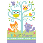 Woodland Welcome Postcard Invitations - 6 PKG/8