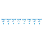 With Love - Boy Pennant Banner 4.5m - 12 PKG
