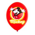 "Mickey Mouse 4 Colour Latex Balloons 11""/27.5cm - 6 PKG/6"