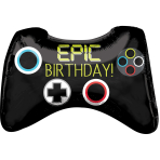 Epic Game Controller SuperShape Foil Balloons P30 - 5 PC