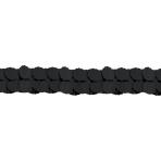 Black Paper Garlands 3.65m - 6 PC