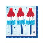 Celebrate USA Beverage Napkins 25cm - 12 PKG/36