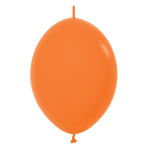 "Fashion Colour Link-O-Loon Solid Orange 061 Latex Balloons 12""/30cm - 50 PC"