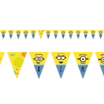 Minions Pennant Banners 3.3m - 6 PC