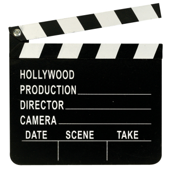 Hollywood Director's Clapboard -12 PC