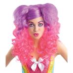 Adults Raging Pony Curls Wig - 3 PC