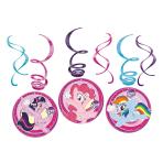 My Little Pony Swirl Decorations - 10 PKG/6