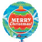 "Christmas Ornament ColorBlast Foil Balloons 21""/53cm S70 - 5 PC"