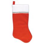 Christmas Felt Stockings 45cm - 48 PC