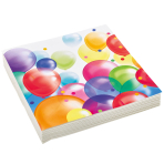 Balloon Fiesta Luncheon Napkins 33cm - 10 PKG/20