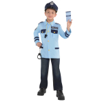 Unisex Police Costume Kit - Age 4-6 Years - 3 PC