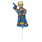 Bob the Builder Double Sided Mini Shape Foil Balloons A30 - 5 PC