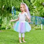 Unicorn Tutu - Size M/L Age 9-13 Years - 1 PC