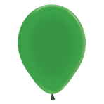"Crystal Solid Green 330 Latex Balloons 12""/30cm - 50 PC"