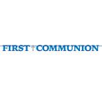1st Communion Blue Letter Banners 3.65m - 6 PC