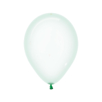 "Crystal Pastel Green 331 Latex Balloons 5""/13cm - 100 PC"