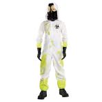 Hazmat Suit Costume - Age 6-8 Years - 1 PC