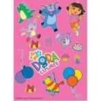 Dora the Explorer Stickers 12 PKG