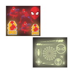 Spider-Man Glow in the Dark Stickers - 6 PKG/16