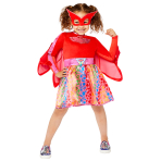 PJ Masks Owlette Rainbow Dress - Age 6-8 Years - 1 PC
