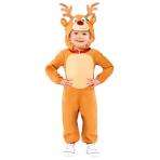 Reindeer Jumpsuit - Age 2-3 Years - 1 PC