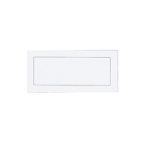 Traditional White Placecards 8.9cm - 12 PKG/50