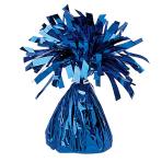Blue Foil Balloon Weights 170g/6oz - 12 PC