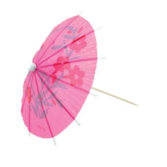 Cocktail Umbrella Picks Assortments - 12 PKG/20