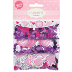 With Love - Girl 3 Pack Value Confetti 34g - 12 PKG