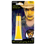 Yellow Cream Make Up Tube 28ml - 6 PC