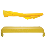 Jumbo Sunshine Yellow Table Rolls 1m x 76m - 1 PC