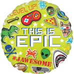 Epic Party This is Epic Standard Foil Balloons S40 - 5 PC