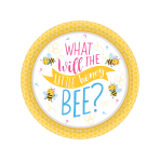 What Will It Bee? Paper Plates 18cm - 12 PKG/8
