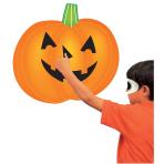 Pumpkin Stick-on Game 50cm x 50cm - 6 PKG/2