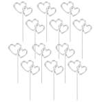 Heart Cake Picks - 12 PKG/12