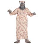 Grandma Wolf Unisex Costume - Plus Size - 1 PC