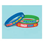 Thomas & Friends Rubber Bracelets - 6 PKG/6