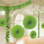 Kiwi Green Room Decoration Kits - 6 PKG/18