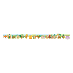 Jungle Friends Letter Banner 1.7m x 13cm - 10 PC
