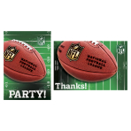 NFL Invitation and Thank You Cards - 6 PKG/16