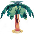 Hawaiian Giant Foil Palm Tree Centrepieces 50cm - 6 PC