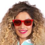 Retro Red Sunglasses - 1 PC