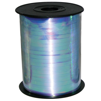 Iridescent Blue Ribbon Spool 230m x 5mm - 1 PC