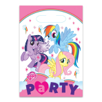 My Little Pony Plastic Party Bags - 10 PKG/8